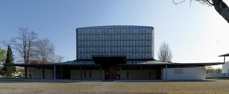 Photo du Monument Historique Eglise Sainte-Bernadette situé à Dijon