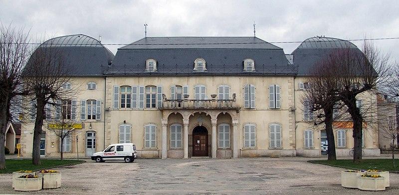 Photo du Monument Historique Domaine du Mesnil situé à Brazey-en-Plaine