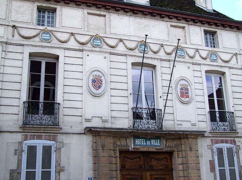 Photo du Monument Historique Hôtel de ville situé à Saint-Jean-de-Losne
