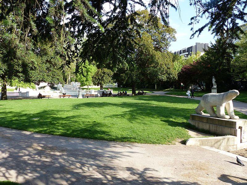 Photo du Monument Historique Réservoir Darcy et jardin Darcy, y compris ses clôtures et la fontaine de la Jeunesse situé à Dijon