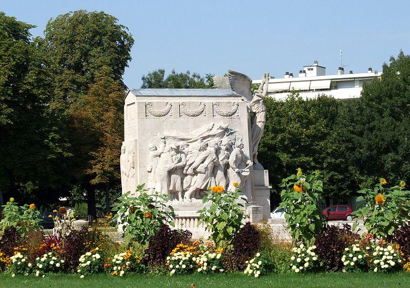 Photo du Monument Historique Monument aux morts de la commune situé à Dijon