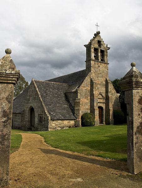 Photo du Monument Historique Eglise Sainte-Geneviève de Guénézan situé à Bégard