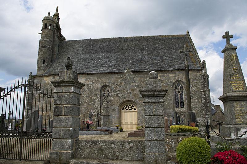 Photo du Monument Historique Chapelle Notre-Dame-de-Comfort situé à Berhet