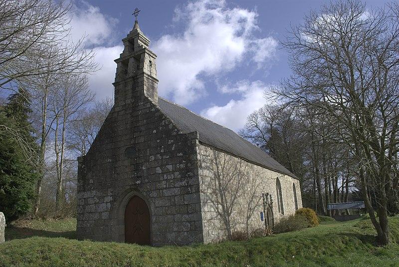 Photo du Monument Historique Chapelle Notre-Dame de Darnouët situé à Bourbriac