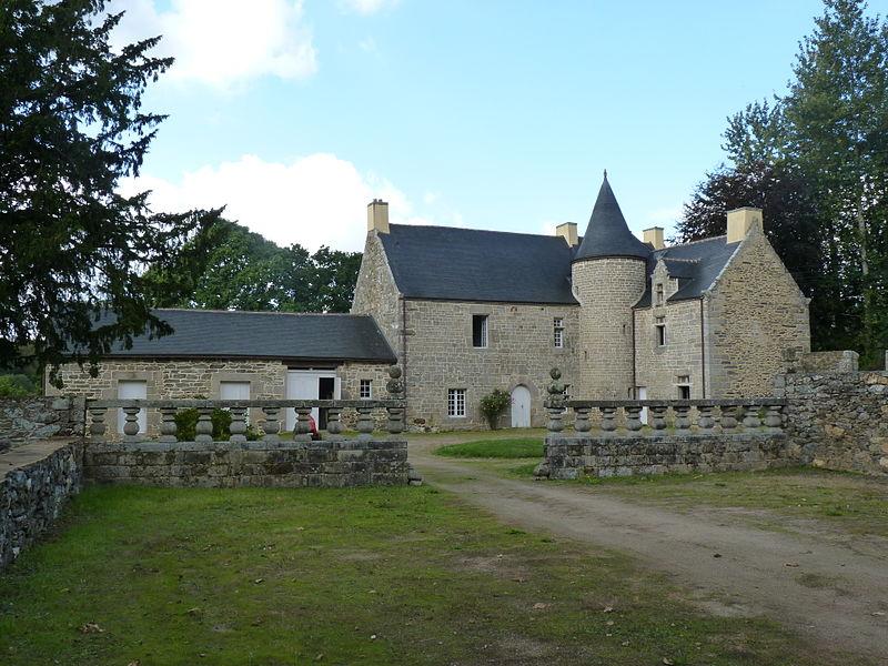 Photo du Monument Historique Manoir du Lézard situé à Bourbriac