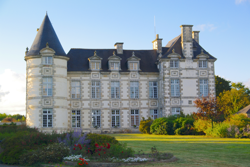 Photo du Monument Historique Château de Beaubois situé à Bourseul