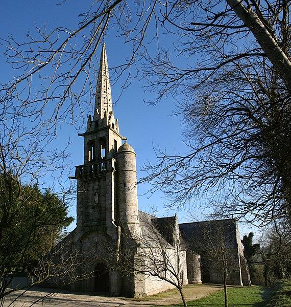 Photo du Monument Historique Chapelle Saint-Gildas situé à Carnoët