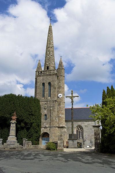Photo du Monument Historique Eglise Saint-Chéron situé à Cavan