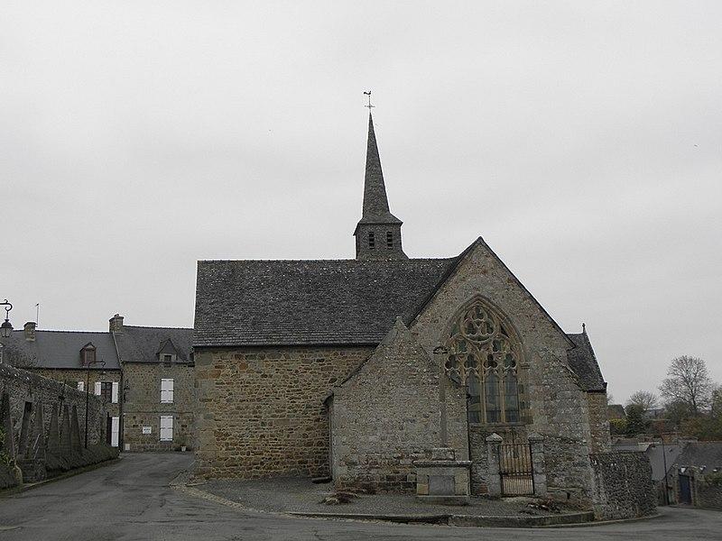 Photo du Monument Historique Eglise Notre-Dame du Tertre situé à Châtelaudren