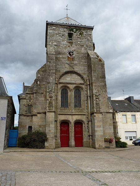 Photo du Monument Historique Eglise Saint-Sauveur situé à Corlay