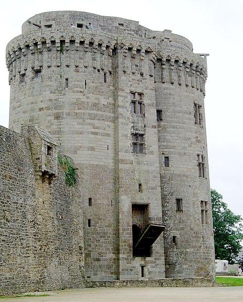 Photo du Monument Historique Château de la Reine Anne situé à Dinan