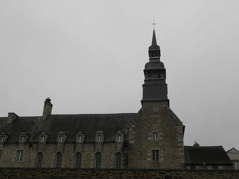 Photo du Monument Historique Ancien couvent des Bénédictines situé à Dinan