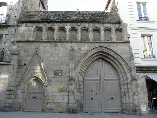 Photo du Monument Historique Ancien couvent des Cordeliers situé à Dinan