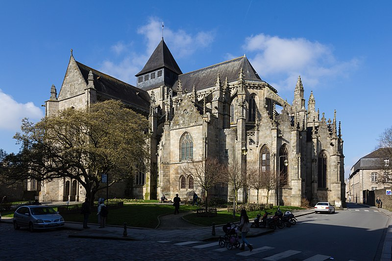 Photo du Monument Historique Eglise Saint-Malo situé à Dinan