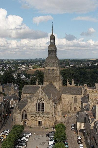 Photo du Monument Historique Eglise Saint-Sauveur situé à Dinan