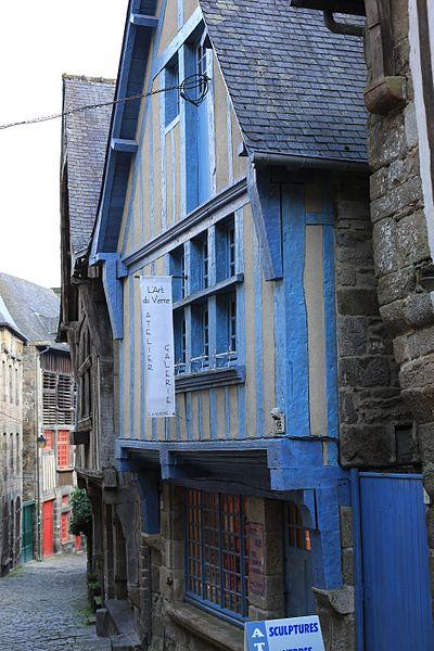 Photo du Monument Historique Maison dite des Potiers situé à Dinan