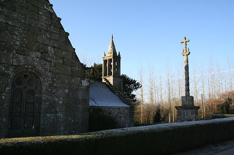 Photo du Monument Historique Prieuré de Landugen situé à Duault