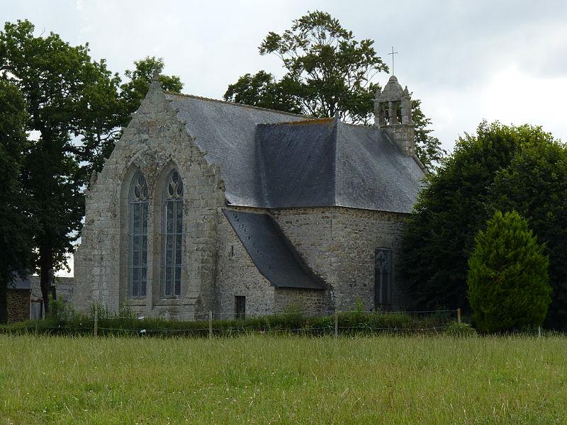Photo du Monument Historique Chapelle de Kergrist et croix situé à Le Faouët