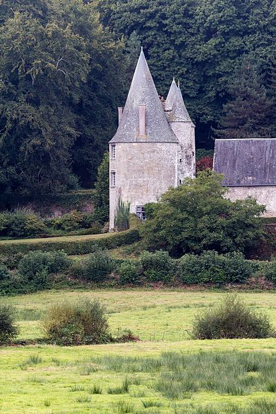 Photo du Monument Historique Manoir de la Noë-Sèche situé à Le Foeil