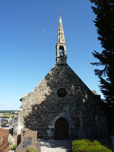 Photo du Monument Historique Chapelle Saint-Gilles situé à Gouarec