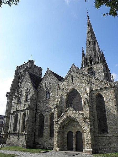 Photo du Monument Historique Eglise Notre-Dame du Bon-Secours situé à Guingamp