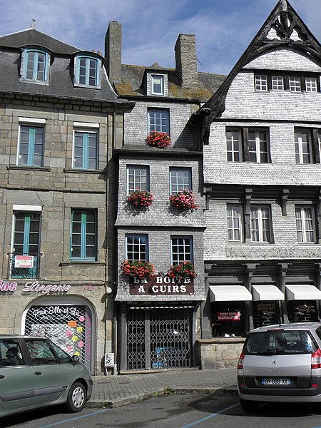 Photo du Monument Historique Maison situé à Guingamp