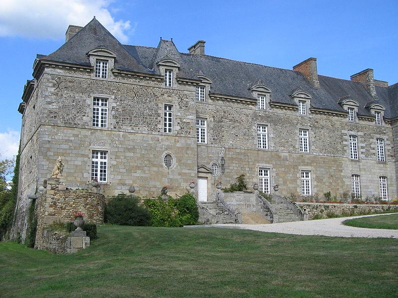 Photo du Monument Historique Château de Couëllan situé à Guitté
