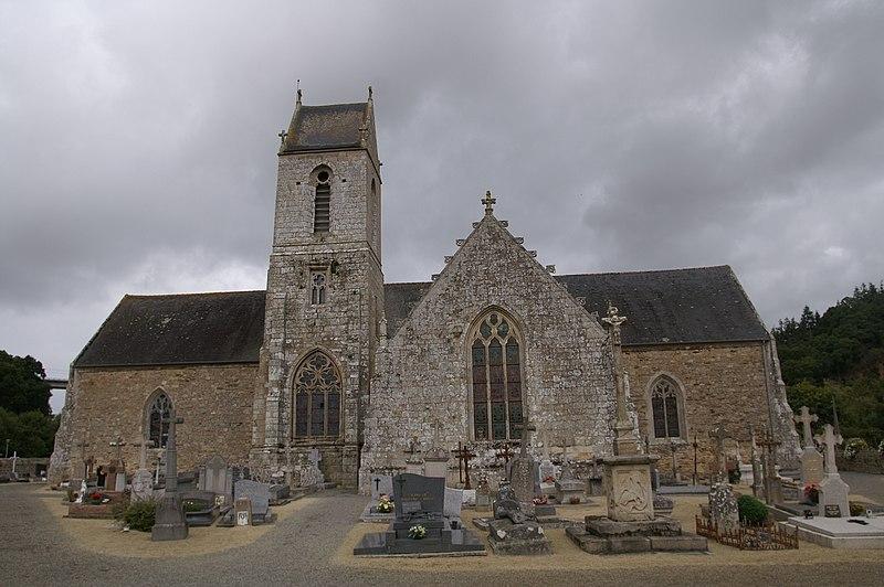Photo du Monument Historique Eglise Notre-Dame et Saint-Etienne situé à Jugon-les-Lacs