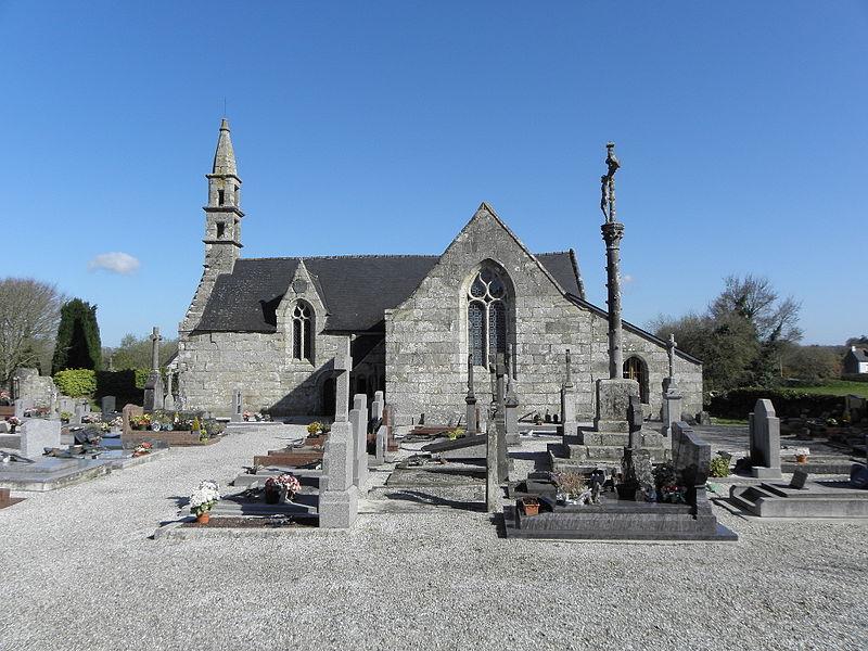 Photo du Monument Historique Chapelle Saint-Lubin situé à Kergrist-Moëlou
