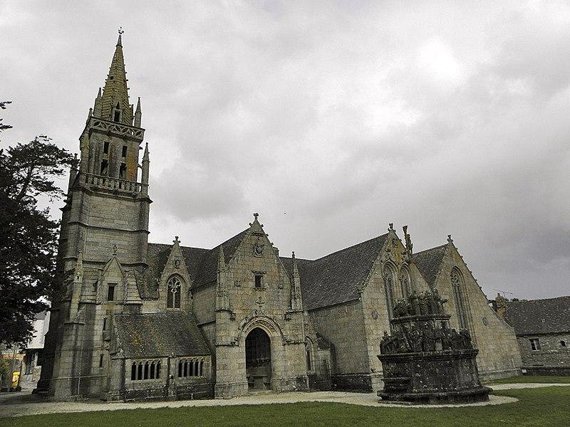 Photo du Monument Historique Eglise Notre-Dame situé à Kergrist-Moëlou