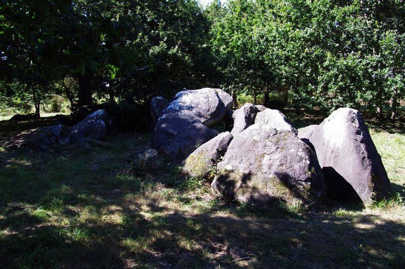 Photo du Monument Historique Allée couverte du Chêne-Hut situé à Lamballe