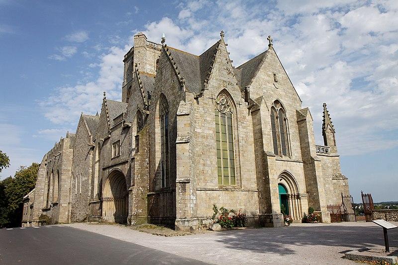 Photo du Monument Historique Eglise Notre-Dame situé à Lamballe