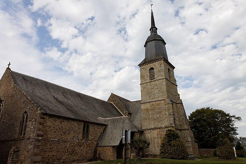 Photo du Monument Historique Eglise Saint-Martin situé à Lamballe