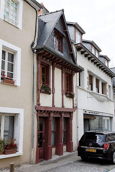 Photo du Monument Historique Maison situé à Lamballe