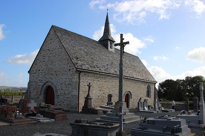 Photo du Monument Historique Chapelle Saint-Jean situé à Langast