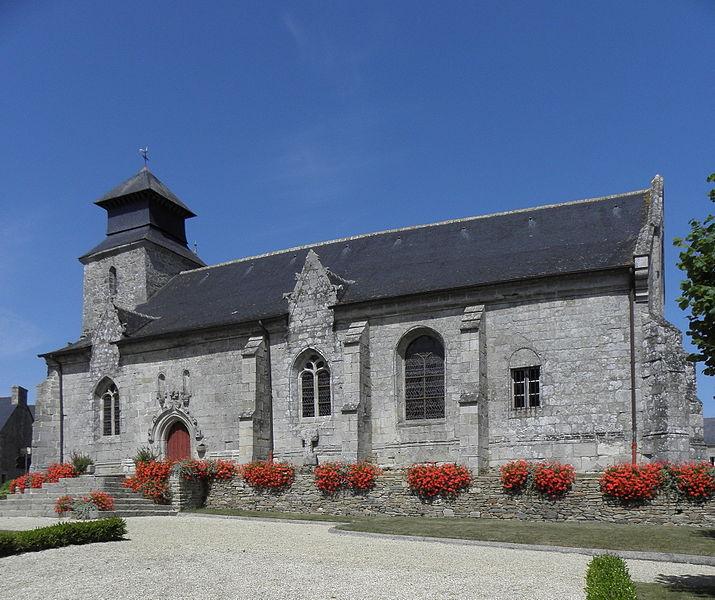 Photo du Monument Historique Eglise Saint-Gal situé à Langast