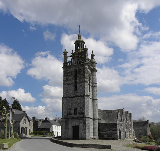 Photo du Monument Historique Eglise Saint-Gildas situé à Laniscat