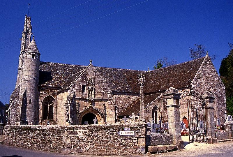 Photo du Monument Historique Eglise Saint-Loup situé à Lanloup
