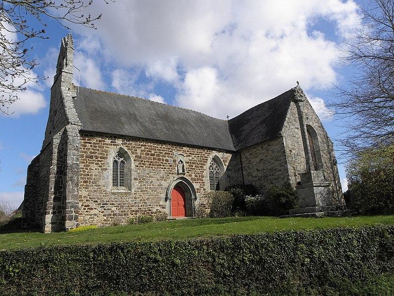 Photo du Monument Historique Chapelle Notre-Dame de Liscornot situé à Lannebert