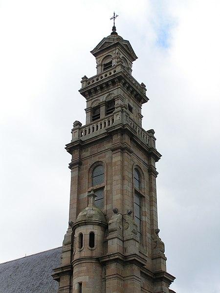 Photo du Monument Historique Couvent situé à Lannion