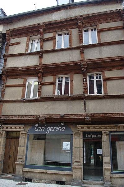Photo du Monument Historique Immeuble situé à Lannion