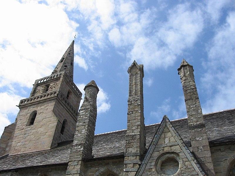 Photo du Monument Historique Eglise de la Trinité de Brélévenez situé à Lannion