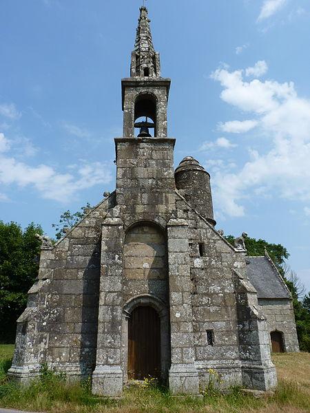 Photo du Monument Historique Ruines de la chapelle de Lannégant situé à Lanrivain
