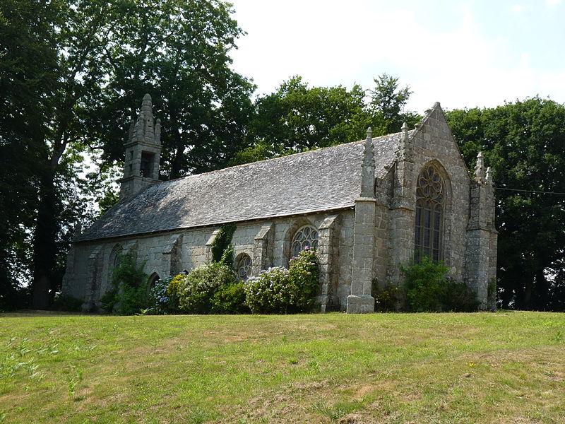Photo du Monument Historique Chapelle Saint-Antoine situé à Lanrivain