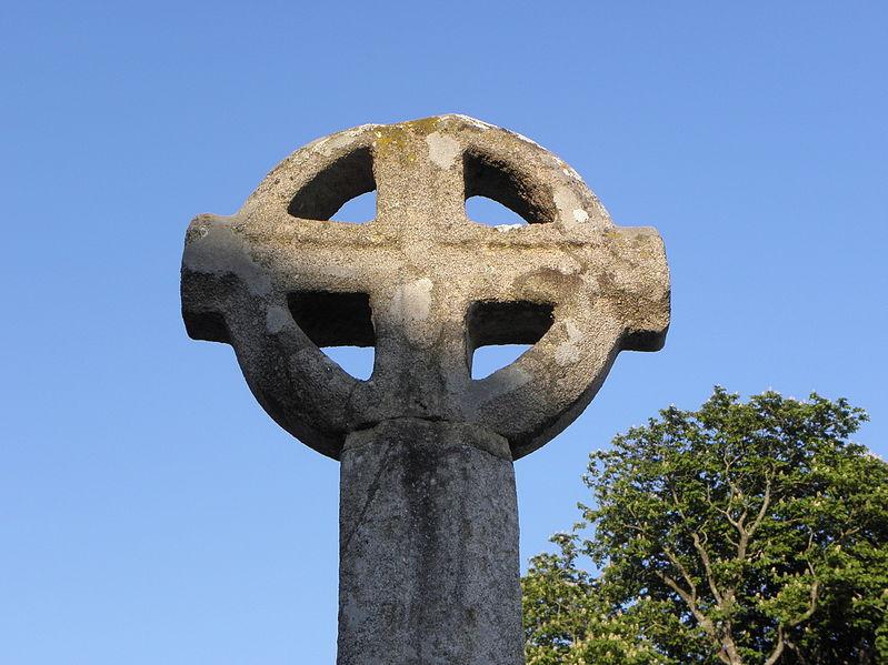 Photo du Monument Historique Croix de cimetière situé à Lanvallay