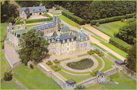Photo du Monument Historique Château de Rosambô situé à Lanvellec