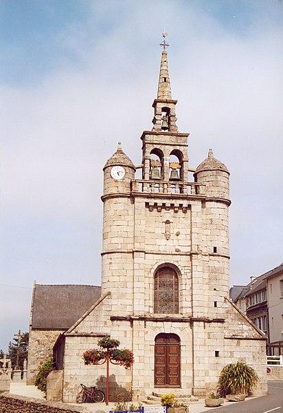Photo du Monument Historique Eglise Saint-Jean-Baptiste situé à Lézardrieux