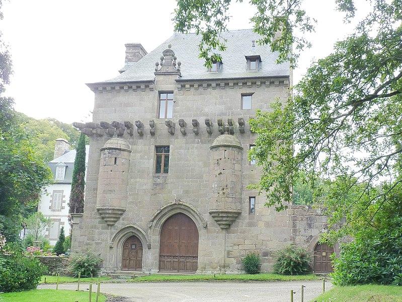 Photo du Monument Historique Manoir de Barac'h situé à Louannec