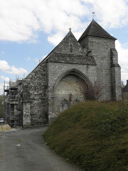 Photo du Monument Historique Chapelle Saint-Jacques de Saint-Léon situé à Merléac