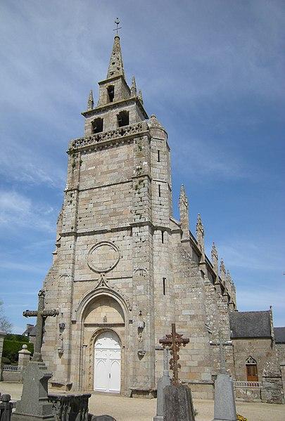 Photo du Monument Historique Eglise Saint-Yves situé à Minihy-Tréguier